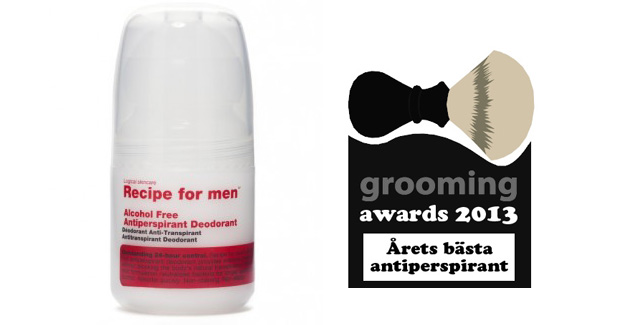 grooming awards antiperspirant
