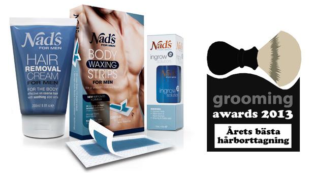grooming awards hårborttagning