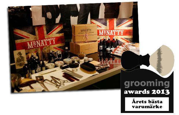 grooming awards 2013 varumärke
