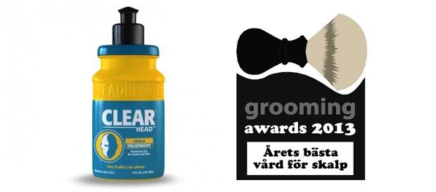 grooming awards vård för skalp