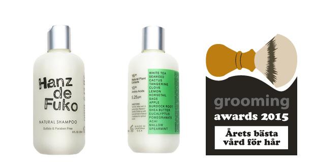 grooming awards årets vård för hår 2015