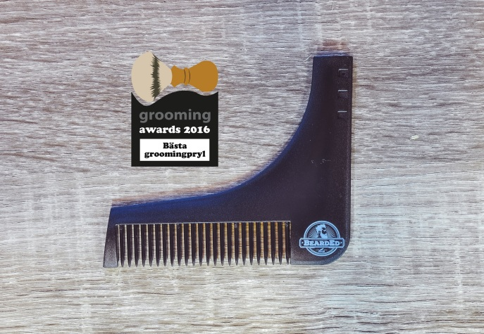 grooming awards 2016 bearded contour comb