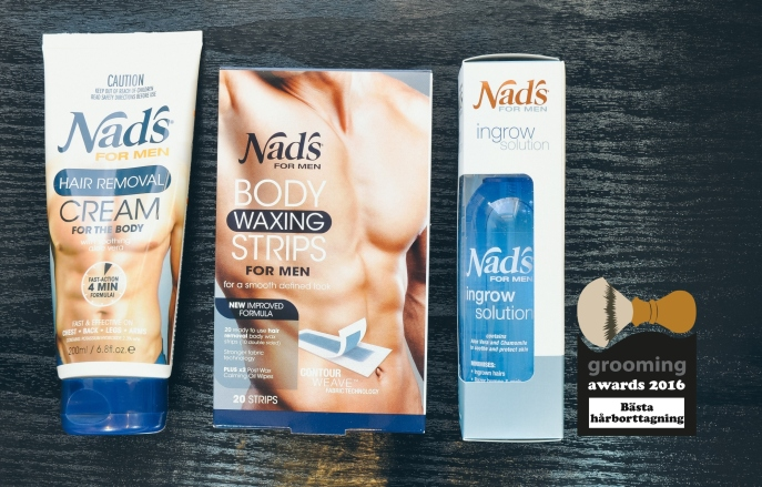 grooming awards 2016 nad's for men