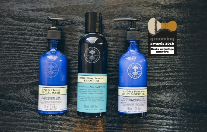 grooming awards 2016 neal's yard remedies