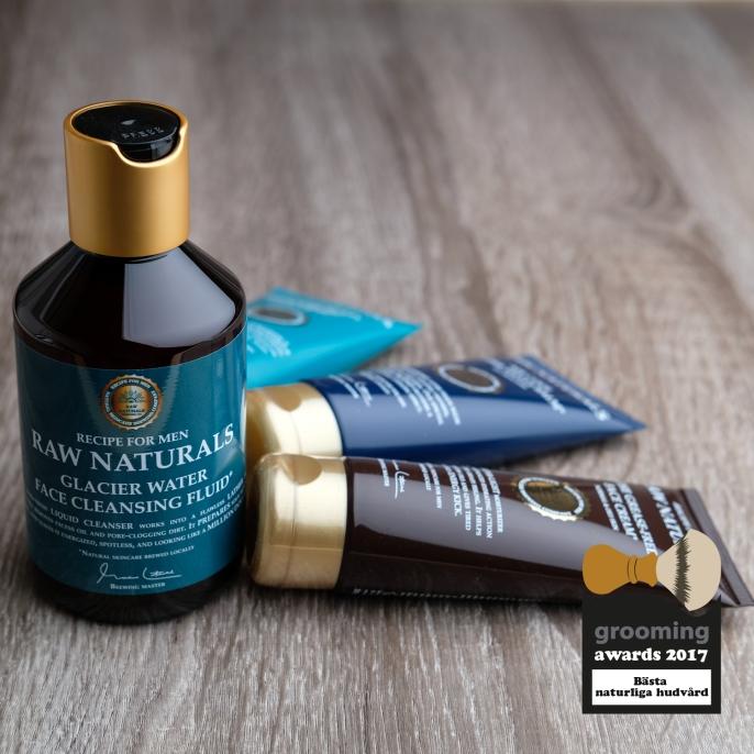 grooming awards 2017 raw naturals