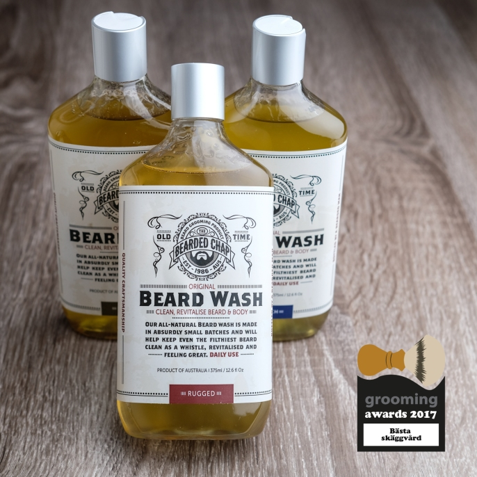 grooming awards 2017 the bearded chap