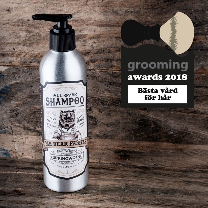 grooming awards 2018
