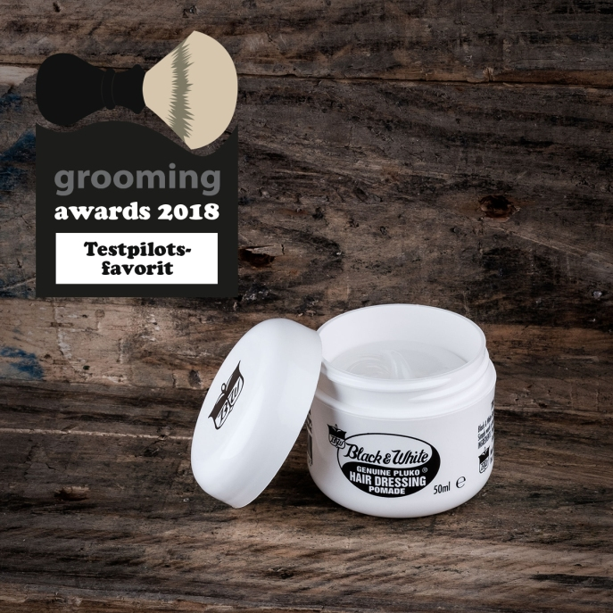 testpilotsfavorit grooming awards 2018